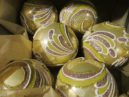 Xmas Balls, Xmas, Decorations, December