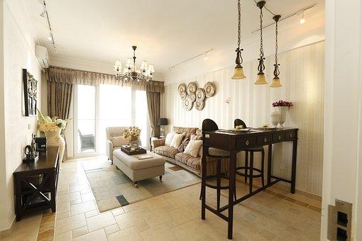 Sample Room, Shenzhen, Estate, Living Room, Indoor