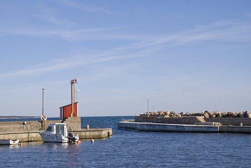 Kåseberga, Ales Stenar, Port, Skåne, österlen, Sweden