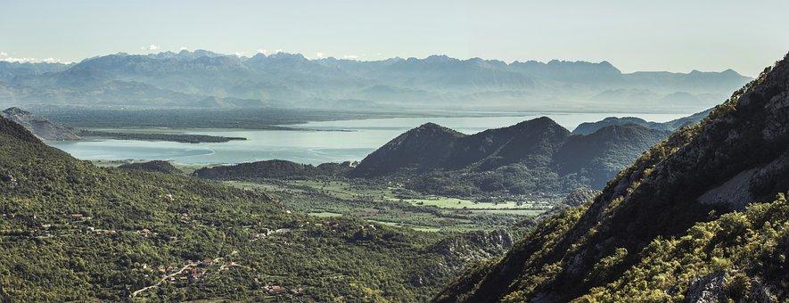 Lake, Skadar, Montenegro, Nature, Water, Landscape