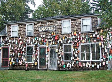 Lobster, New England, Usa, Home, Maine