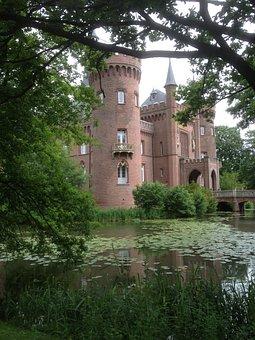 Castle, Architecture, Moyland, Germany