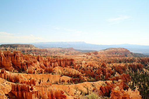 Gorge, United States, Canyon, Western, Travel, Redstone