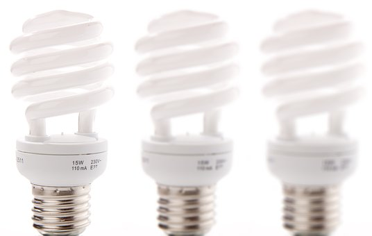 Sparlampe, Energy, Compact Fluorescent Lamp, Screw