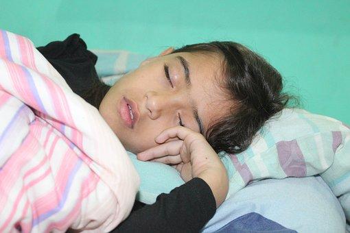 Child, Sleeping, Ededrom
