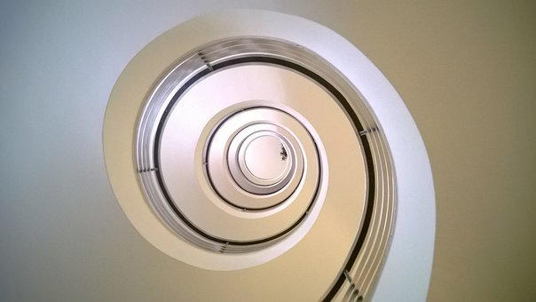 Stairs, Staircase, Spiral Staircase, Snail