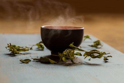 Tee, Teacup, Green Tea, Steam, Hot Tea, Teatime, Drink