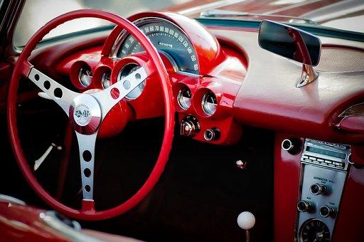 Chevrolet, Corvette, Cockpit, Front, Steering Wheel