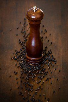 Pepper, Pepper Mill, Sharp, Benefit From, Spices