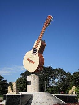 Monument, Bandola, Colombia, Casanare