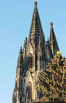 Cologne Cathedral, Dom, Christmas, Christmas Tree