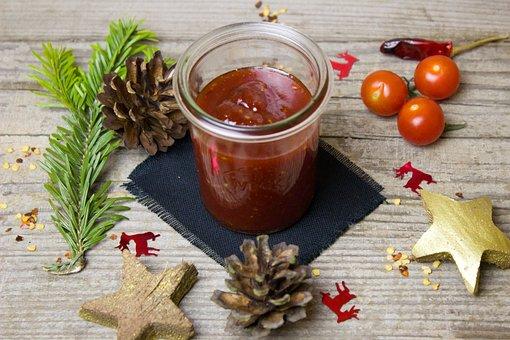 Tomato, Jam, Chili, Vanilla, Sauce, Dip, Frisch
