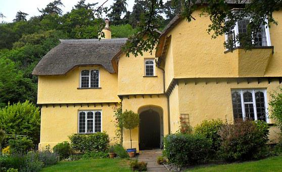 Architecture, Cottage, England, Home, Village, Yellow