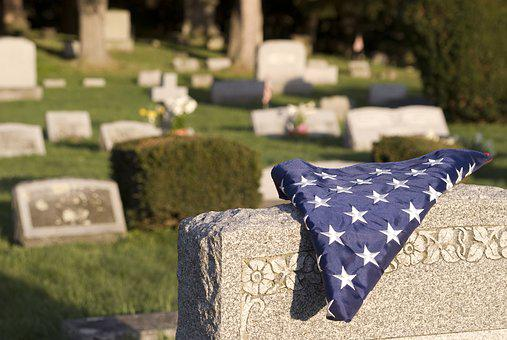 Veteran, Cemetery, Flag, Memorial, Military, Grave