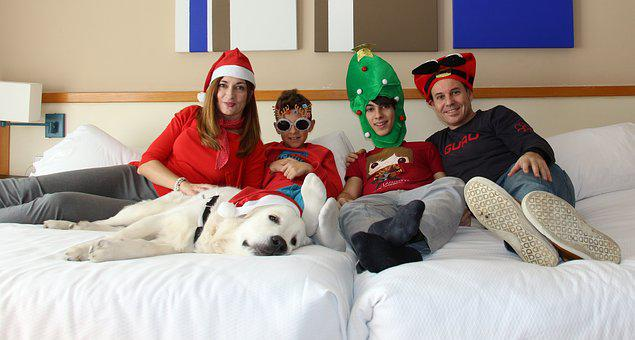 Merry Christmas, Children, Christmas, Family Christmas
