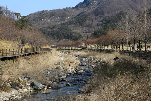 Korea, Mountain, Tour-course, Moonkyung, Landscape