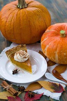 Pumpkin Pie, Autumn, Pumpkin, Orange, October