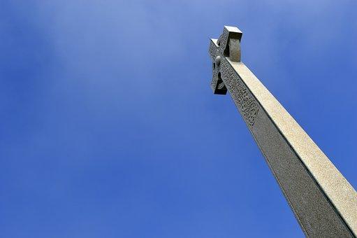 Cross, Monument, Architecture, Old, Landscape, Landmark