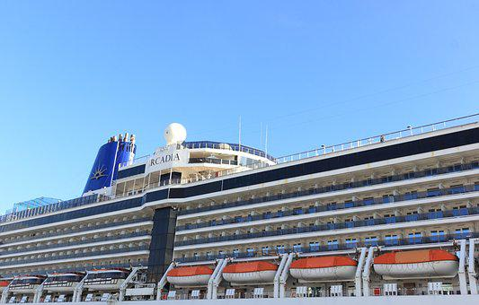 Portugal, Lisbon, Cruise, Terminal, Ship, Arcadia