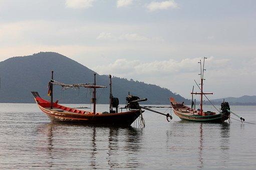 Longboat, Picturesque, Calmness