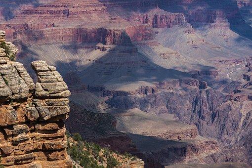 Grandcanyon, Nature, Landscape, Vista, Scenery, Canyon