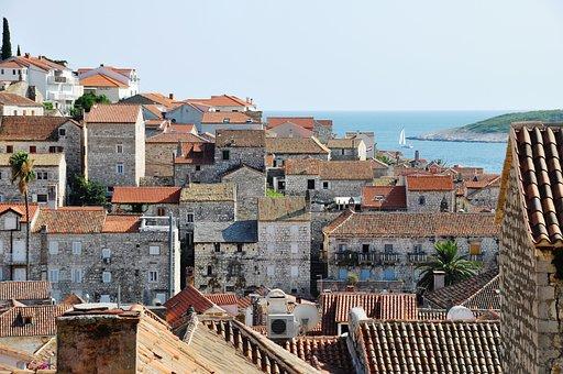 Hvar, Croatia, City, Houses