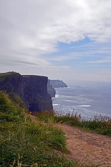 Cliffs Of Moher, Ireland, Travel, Cliff, Rock