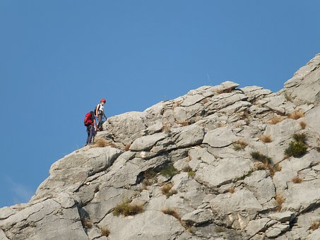 Mountains, Climbing, Croatia, Omiś, Rocks