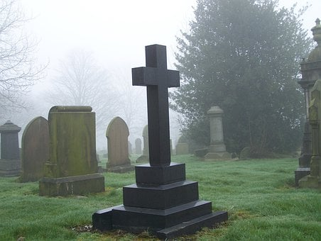 Cemetery, Grave, Graveyard, Scary, Tomb, Tombstone