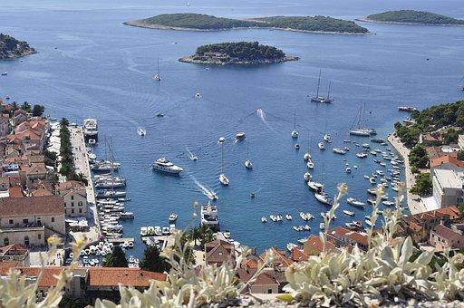 Hvar, Dalmatia, Island, Summer, Vacations, Sea