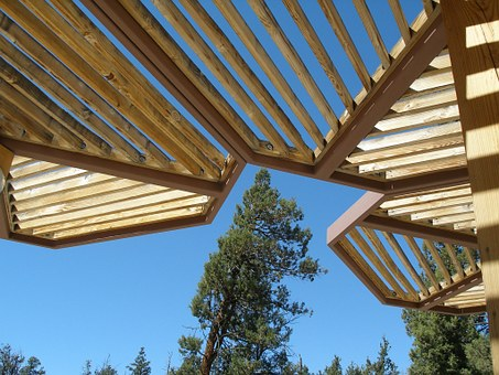 Angle, Geometrical Angles, Wooden Roof, Architecture