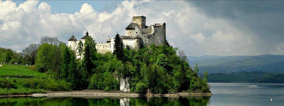 Castle, Niedzica, Monument, History, Tourism