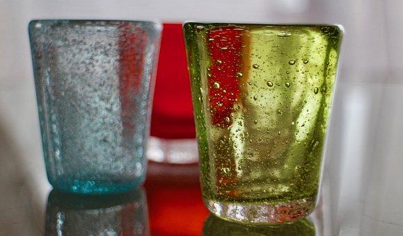 Glass, Colors, Colored Glass, Aperitif, Color, Glasses