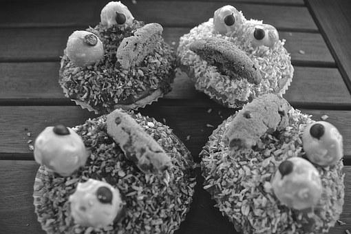 Muffins, Pgdboss, Black White, Eat, Delicious, Bake
