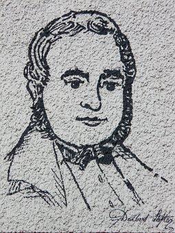 Face, Man, Human, Portrait, Person, Adalbert Stifter