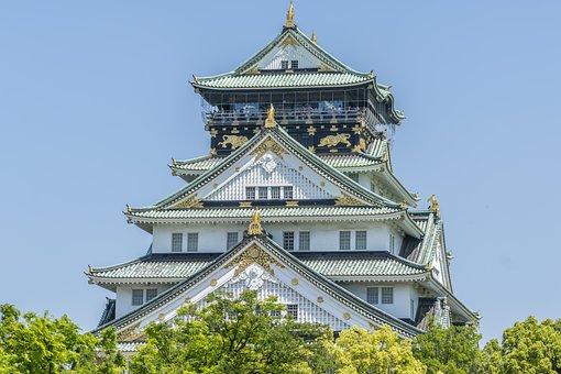 Castle, Japan, Japanese, Landmark, Asia, Building