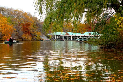 Central Park, New York, New York City, The Lake