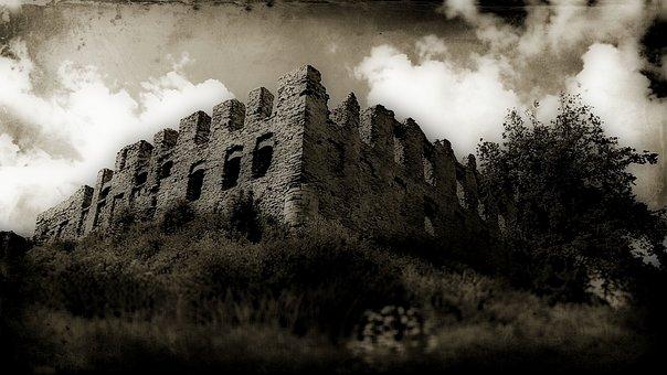 Castle, The Ruins Of The, Rabsztyn, Poland, Monument