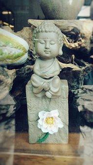 Still Life, Buddha, Close-up