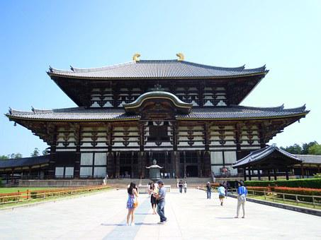 Todaiji, Summer, Travel, Japan, Shrine