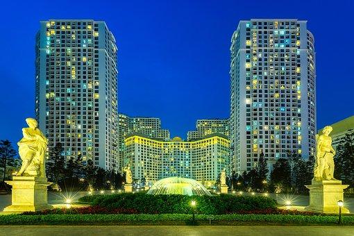 Hanoi, Vietnam, City, Urban, Skyline, Cityscape, Modern