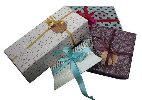 Gift, Gifts, Packages, Christmas, Tape, Boxes, Holiday