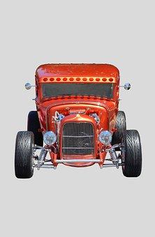 Hot Rod, Car, Retro, Speed, Auto, Nostalgia, Road, Fun