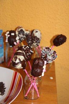 Bake, Cakepops, Deco, Chocolate