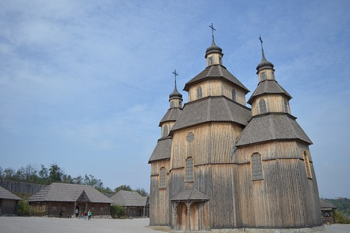 Wooden, Church, Historical And Cultural Complex