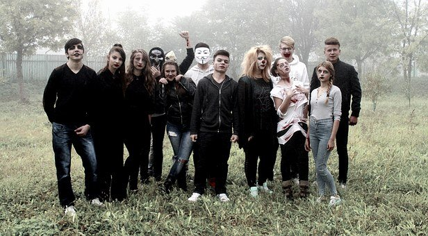 Halloween, Group, Horror, Movie, The Gang
