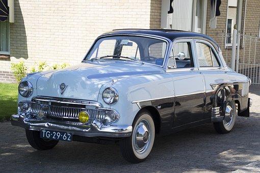 Oldtimer, Car, Vauxhall, Classic, Automotive, Old Car