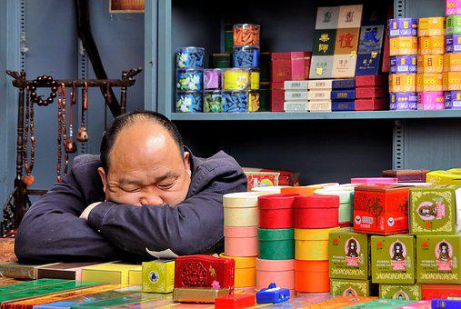 Market, Asleep, Etal, Incense, Sleep, Pekin, Beijing