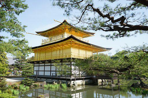 Temple Of The Golden Pavilion, Japan