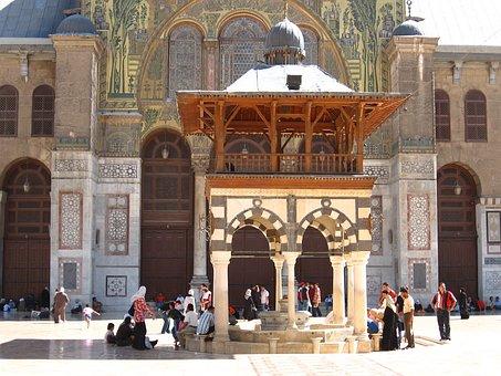 Umayyad Mosque, Syria, Damascus, Mosque